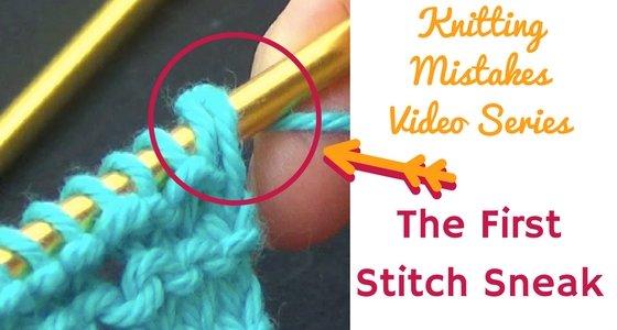 The First Stitch Sneak