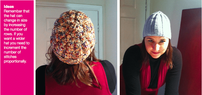 Knitted Beanie Hat Instructions