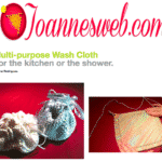 Knitted Wash Cloth Instructions and Video- FREE