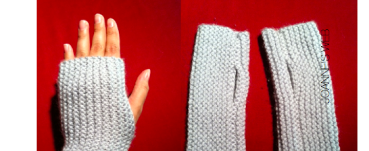 Fingerless Gloves    A Quick and Easy Knitting Project