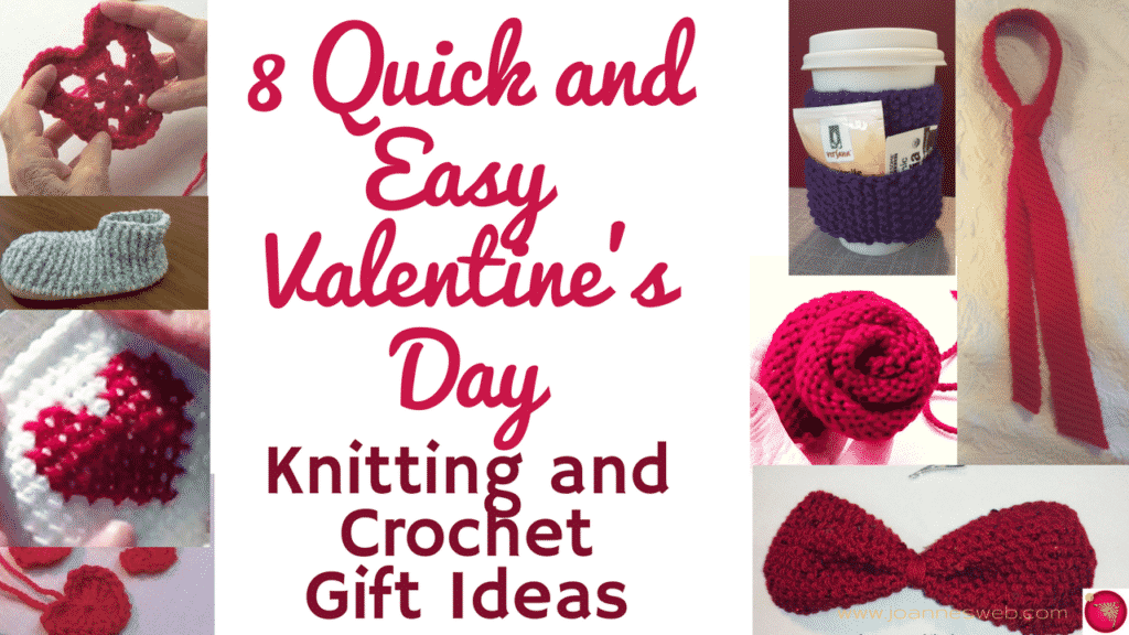 valentine's day crochet and knitting projects