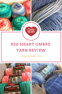 Read Heart Super Saver Ombre Yarn Review