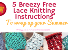 5 Breezy Free Lace Knitting Instructions