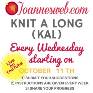 Joanne's Web Knit A Long